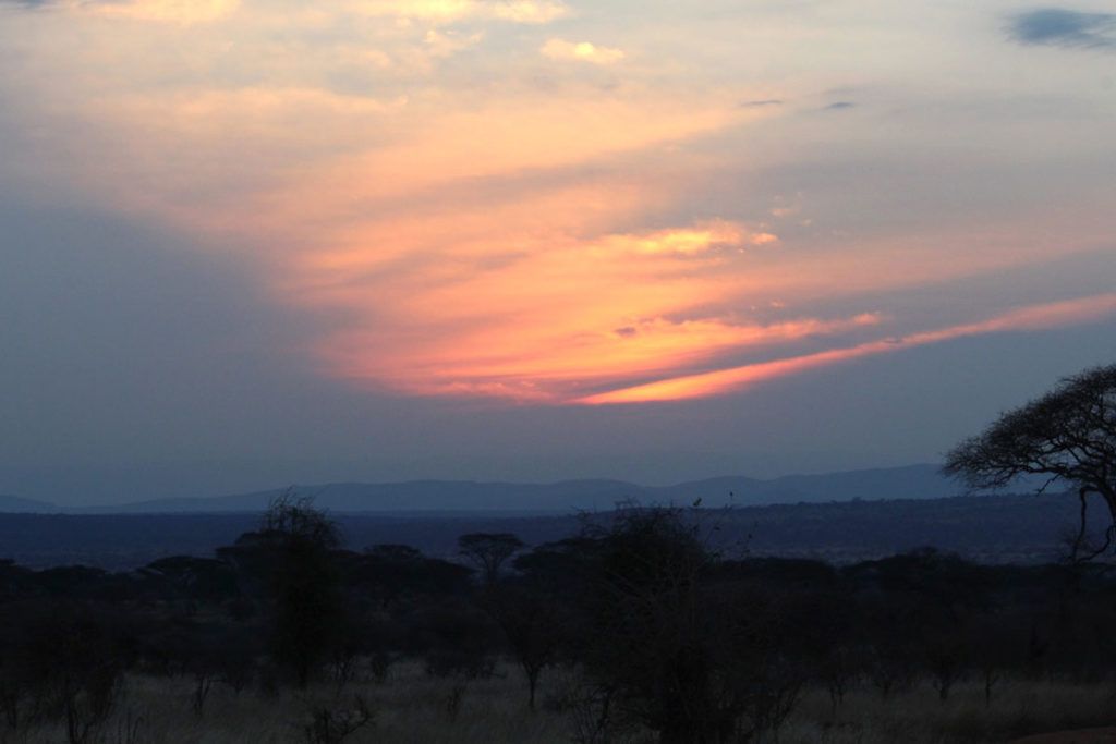 Tanzanian Sunset experienced by Penwell Safari