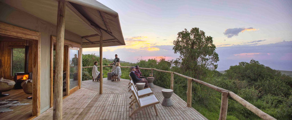 Overlooking the Ngorongoro Conservation Area from The Highlands Camp