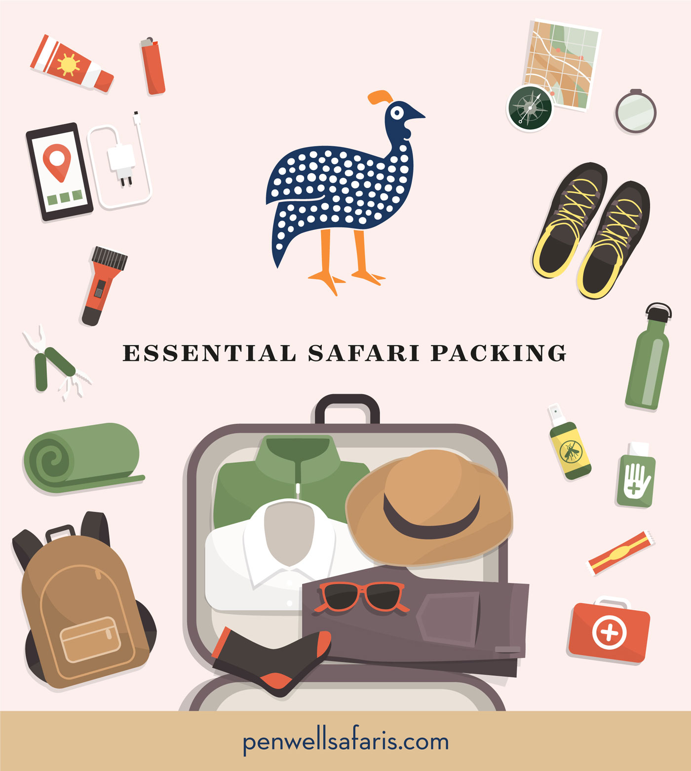 Everything you need to pack for an African Safari