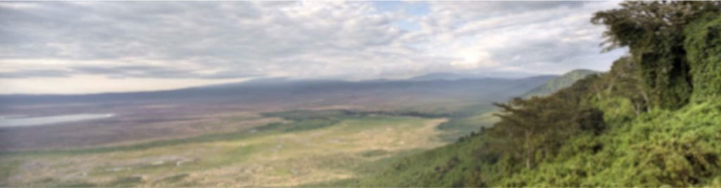 Scenic view of Ngorongoro Conservation Area