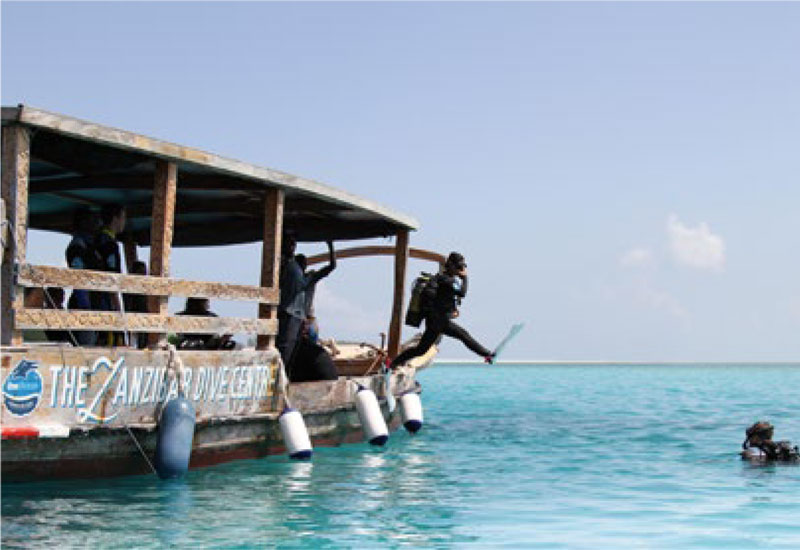 Scuba Diving in Matemwe