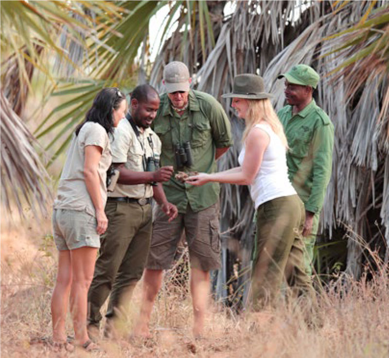 Group at Selous Game Reserve