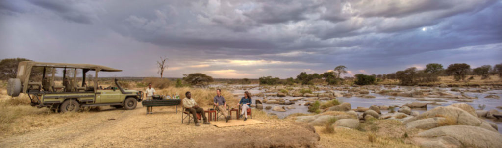 Game Drive stop at Serengeti National Park