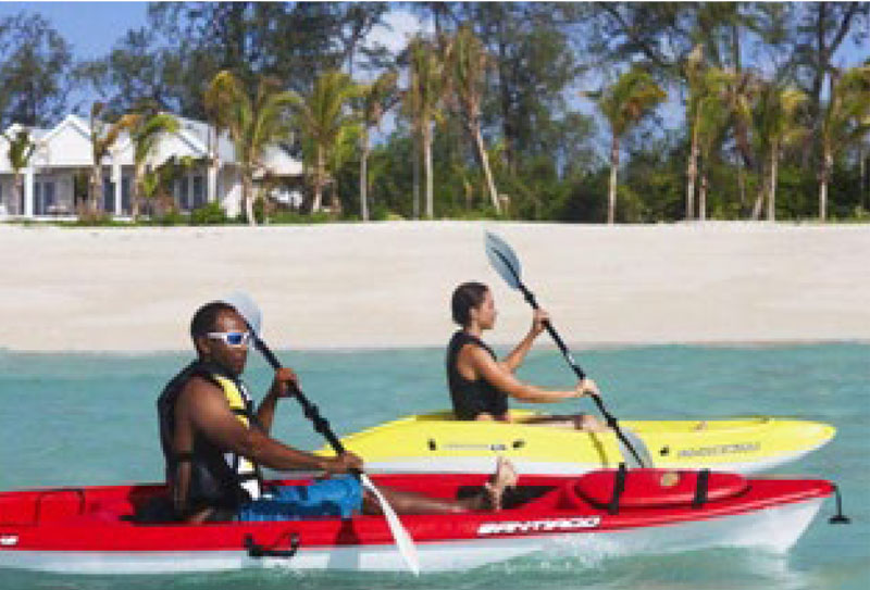 Thanda Private Island Kayaking